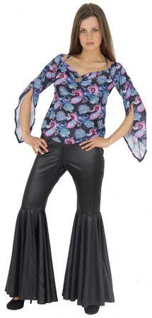 70er Jahre Hippiekostüm für Damen Flower Power