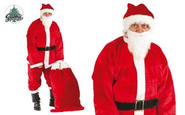 Weihnachtsmann Kostüm für Herren Gr. M/L