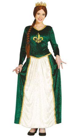 grünes Prinzessin Kostüm für Damen Gr. M - XL