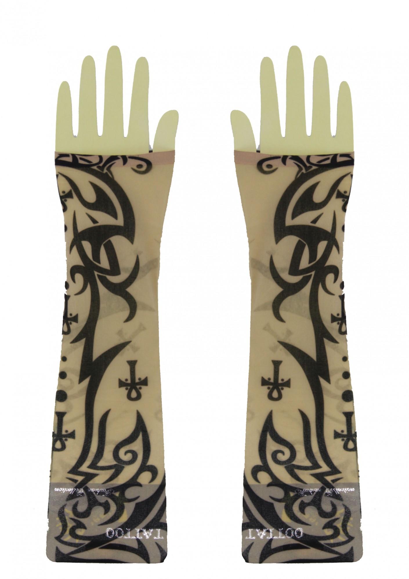 tattoo rmel schwarz halloween kost m online shop kost me per cken masken zubeh r. Black Bedroom Furniture Sets. Home Design Ideas