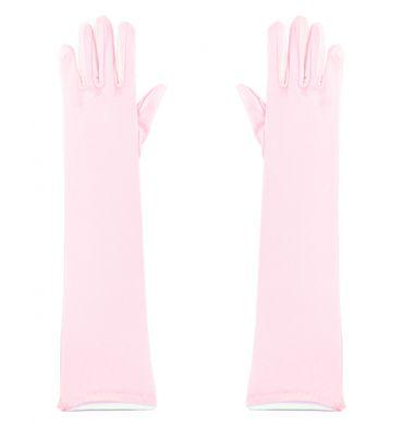 lange rosa Handschuhe für Damen