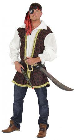Pirat Freibeuter Piratenkostüm für Herren Gr. M - xXXL
