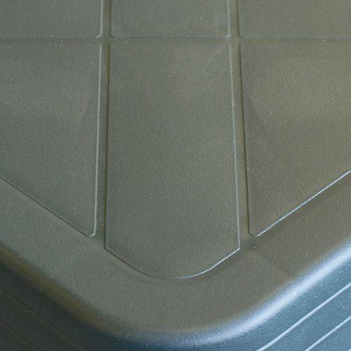 5tlg. Gartengarnitur RENO 70x70cm + 4x Klappstuhl TAMPA Kunststoff - Grün – Bild 3