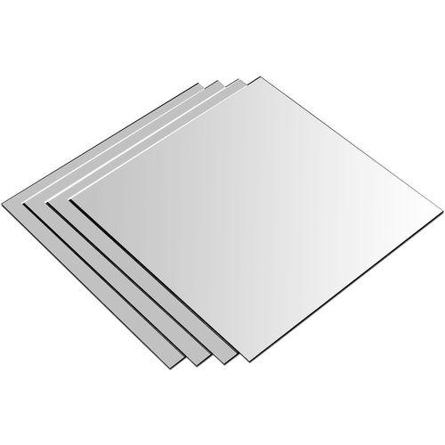 2x 4Stk Spiegelfliesen je 20,5x20,5cm