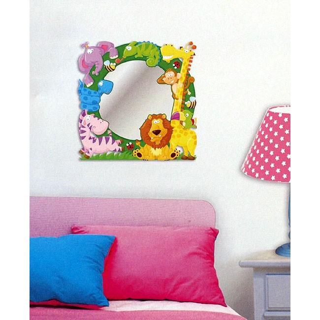 spiegelaufkleber f r kinder spiegel dekospiegel. Black Bedroom Furniture Sets. Home Design Ideas