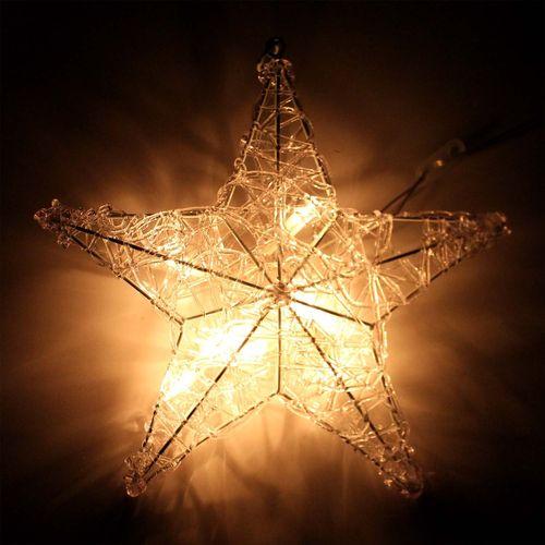 Beleuchteter Stern 30cm – Bild 4