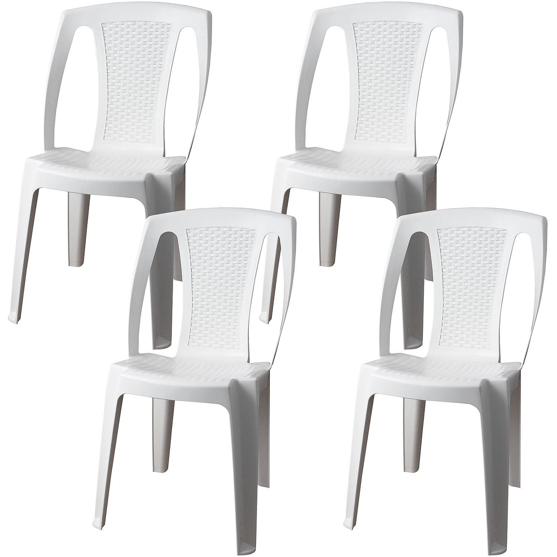 Gartenstuhl 4x Stapelstuhl Gartenmöbel Sitzmöbel ...