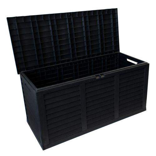 Auflagenbox Kissenbox Anthrazit 380L 116,5x51,5xH57,5cm