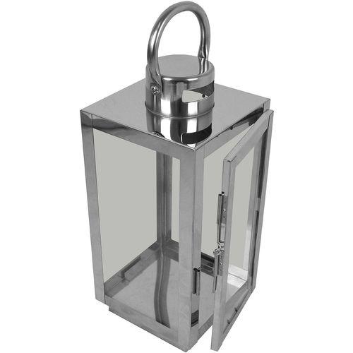 3tlg. Laternen-Set H56/42/30cm - Silber – Bild 2