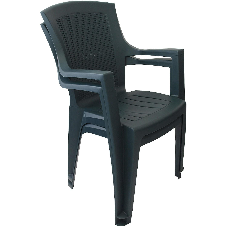 gartenst hle kunststoff gr n. Black Bedroom Furniture Sets. Home Design Ideas