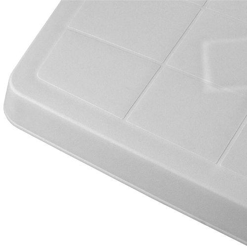 Gartentisch Rodano 138x88cm Weiß – Bild 2