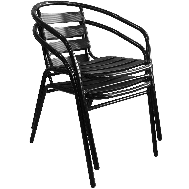 bistrogarnitur gartentisch rattan look 79x79cm 4x. Black Bedroom Furniture Sets. Home Design Ideas