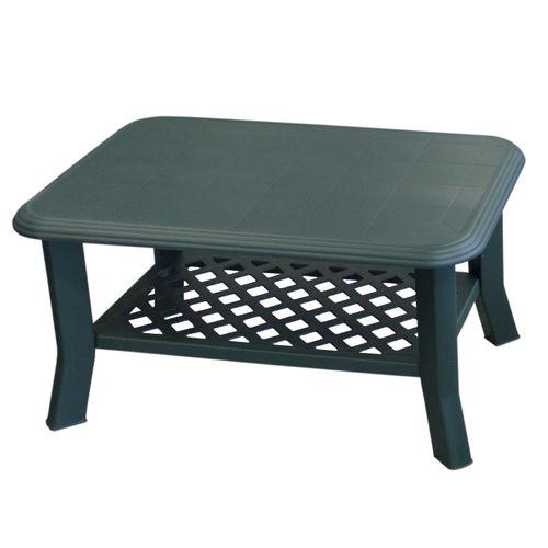 Gartentisch NISO 90x60cm - Grün – Bild 1