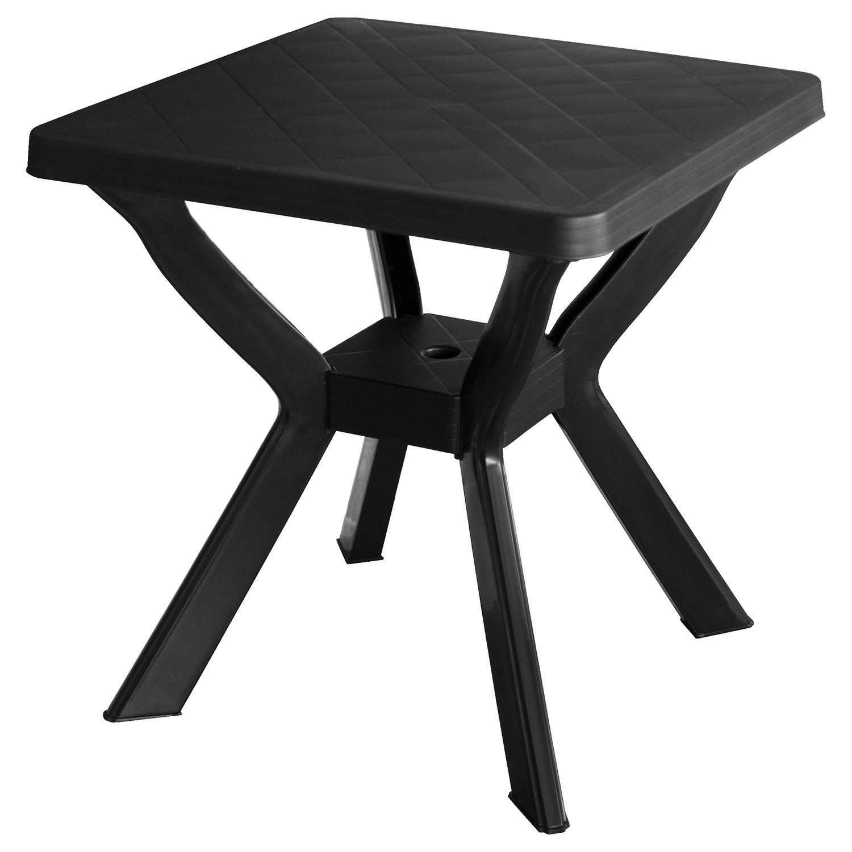 gartentisch reno 70x70cm kunststoff anthrazit garten gartenm bel gartentische kunststofftische. Black Bedroom Furniture Sets. Home Design Ideas