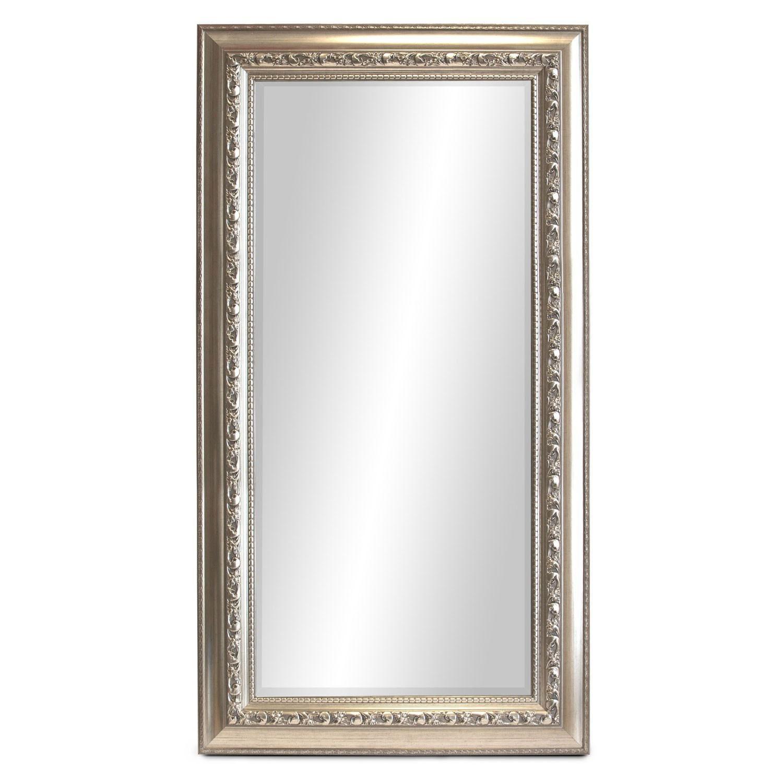 wandspiegel barspiegel mit facettenschliff 140x60cm silber wohnen spiegel. Black Bedroom Furniture Sets. Home Design Ideas