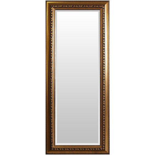 Wandspiegel mit Facettenschliff 170x70cm - Gold – Bild 1
