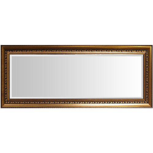 Wandspiegel Barspiegel mit Facettenschliff 102x52cm - Gold – Bild 2