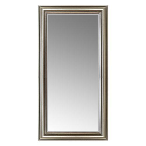 Wandspiegel mit Facettenschliff 102x52cm - Silbergold – Bild 2