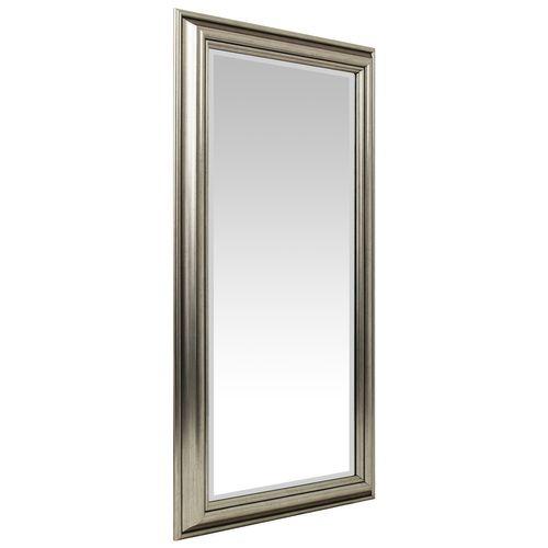 Wandspiegel mit Facettenschliff 102x52cm - Silbergold – Bild 1