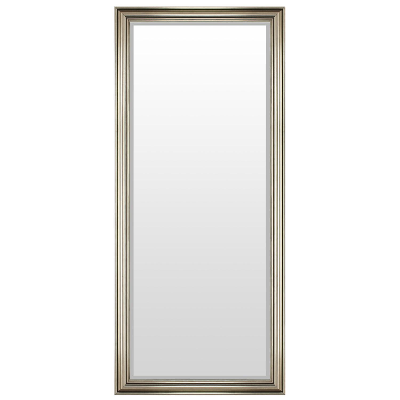 wandspiegel mit facettenschliff 170x70cm silbergold wohnen spiegel. Black Bedroom Furniture Sets. Home Design Ideas