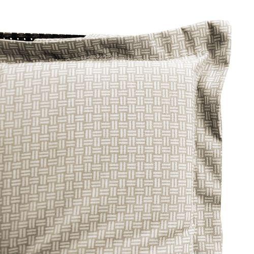 "Aluminium Hochlehner 7-Pos. 4x4 Textilen + Auflage ""East Harlem"" beige  – Bild 4"