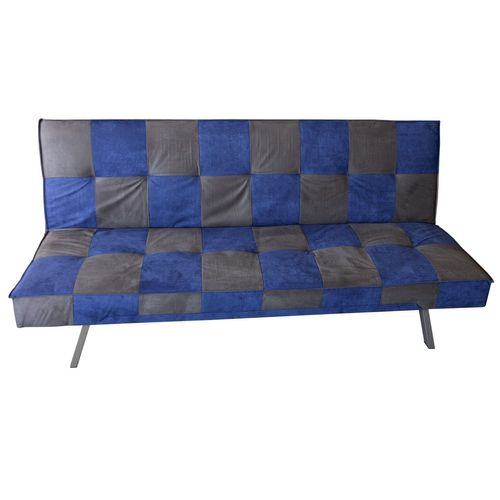 schlafsofa g stebett schlafcouch bettsofa f r jugendzimmer 179x107cm blau grau ebay. Black Bedroom Furniture Sets. Home Design Ideas