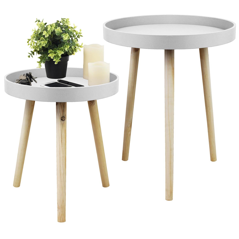 satztische 40 50cm beistelltische blumentische sofatische. Black Bedroom Furniture Sets. Home Design Ideas