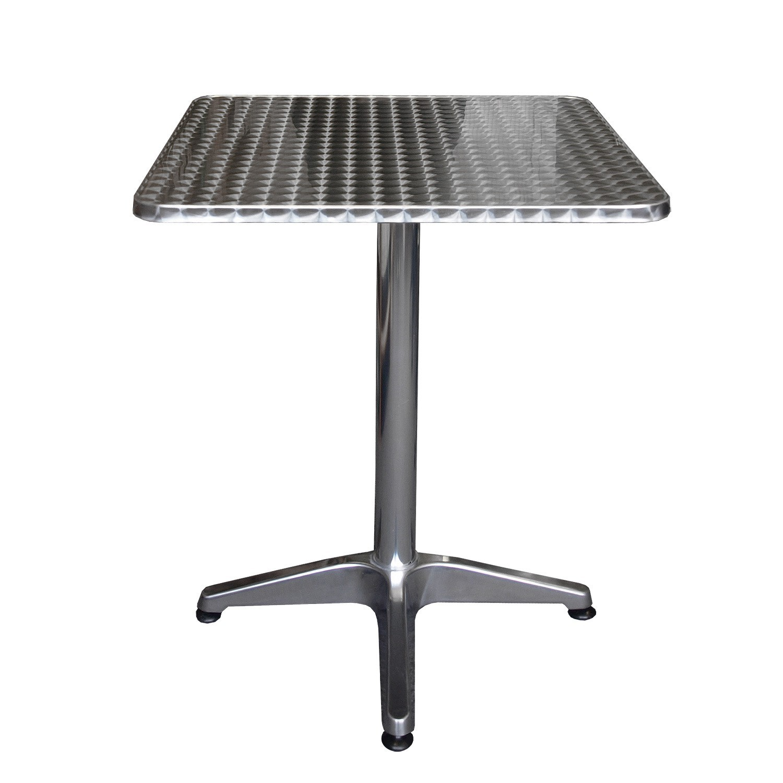 Bistrotisch Aluminiumtisch - 60x60cm Garten Gartenmöbel Gartentische ...