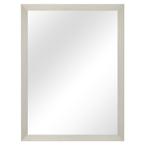 Wandspiegel 56,5x76,5cm - Weiss – Bild 1