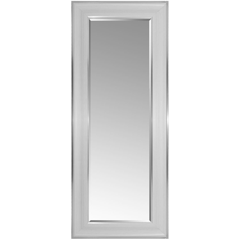 wandspiegel mit facettenschliff 170x70cm silberwei wohnen spiegel. Black Bedroom Furniture Sets. Home Design Ideas