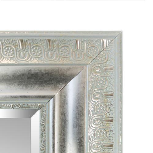 Wandspiegel mit Facettenschliff 170x70cm Antik-Optik - Silbergold – Bild 4
