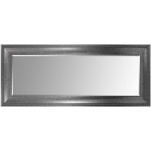 Wandspiegel mit Facettenschliff 170x70cm Antik-Optik - Silber – Bild 2
