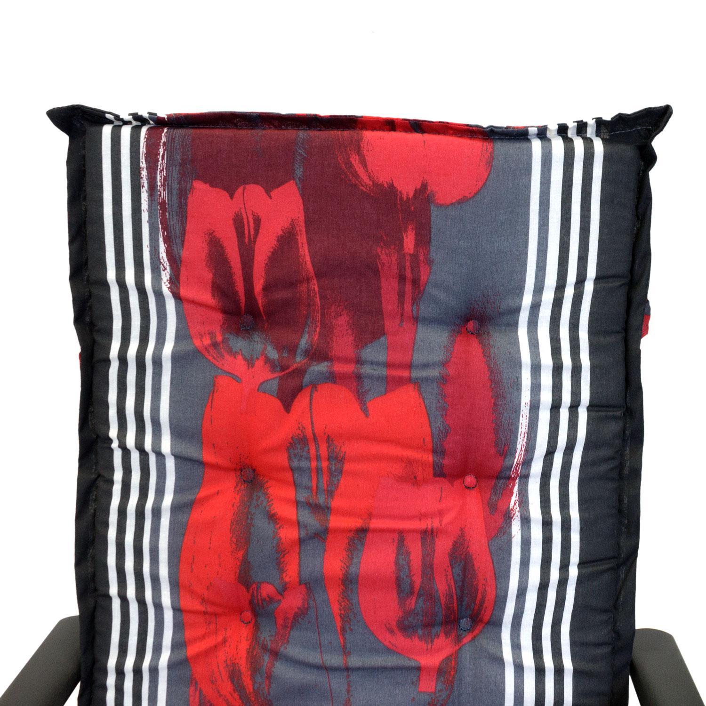 2er set hochlehner polsterauflage gartenstuhlauflage. Black Bedroom Furniture Sets. Home Design Ideas