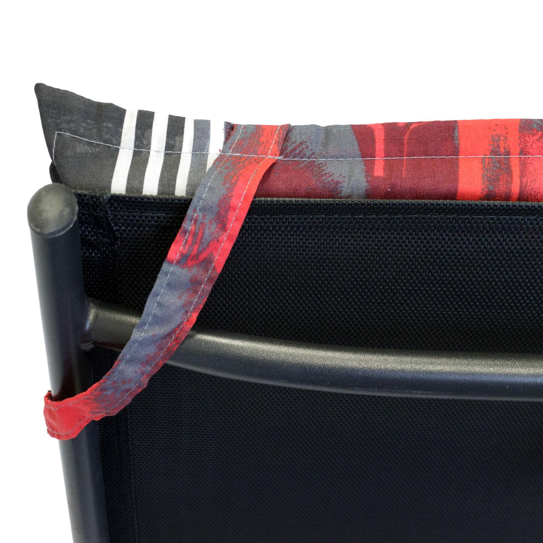 6er set hochlehner polsterauflage gartenstuhlauflage. Black Bedroom Furniture Sets. Home Design Ideas