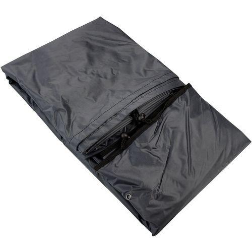 Schutzhülle für Sitzgruppe rund 180x115cm in Schwarz – Bild 3