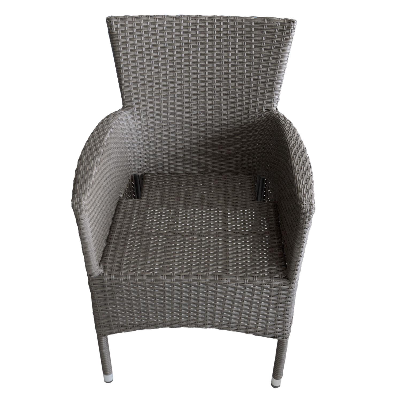balkonm bel glastisch 60cm 2x rattansessel inkl sitzkissen garten bistro und balkonsets 3 teilig. Black Bedroom Furniture Sets. Home Design Ideas