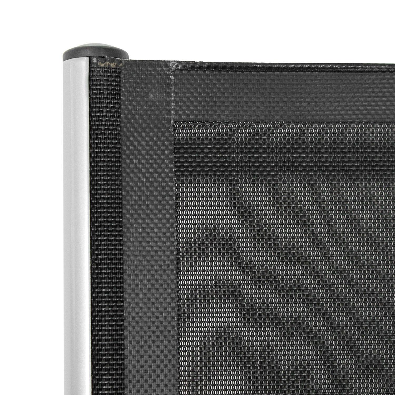 gartentisch bali holzoptik kunststoff 78x78cm anthrazit. Black Bedroom Furniture Sets. Home Design Ideas