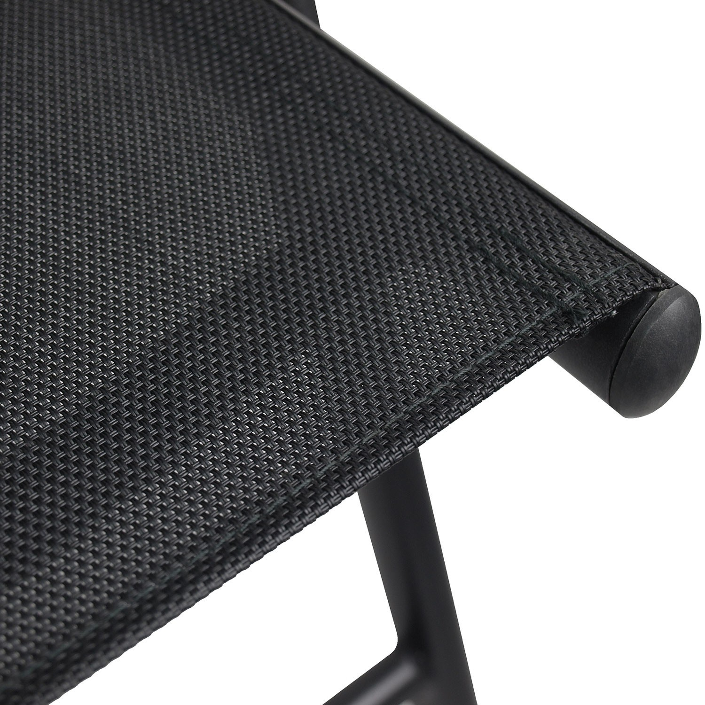 Gartenmobel Set Kunststoff 79x79cm 2x Aluminium Hochlehner 2x