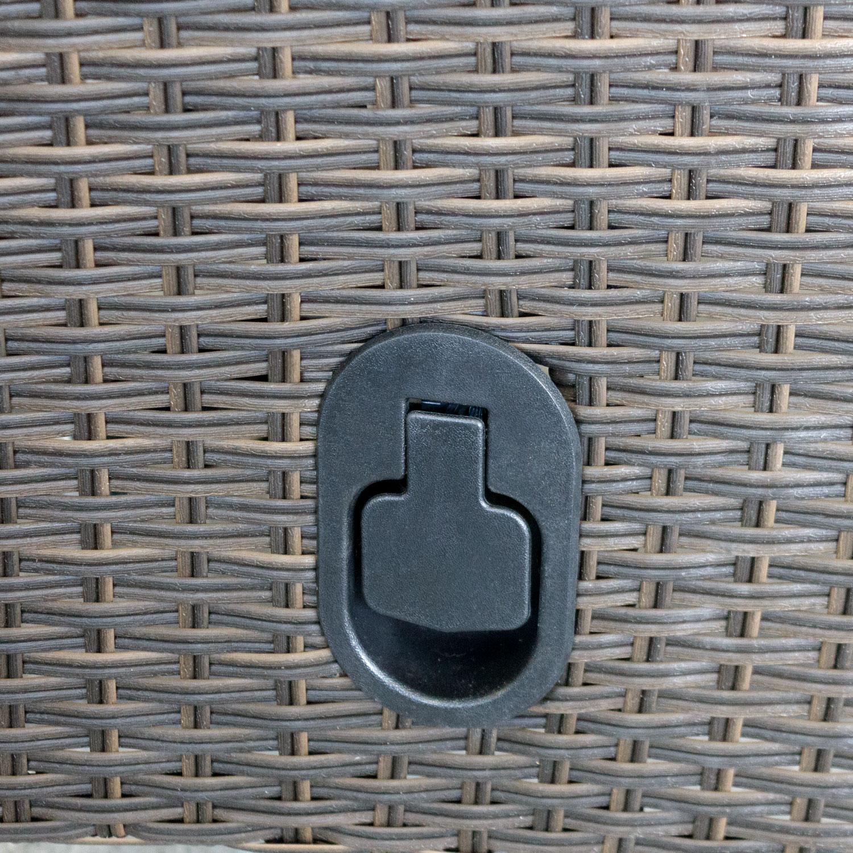 Good Polyrattan Sessel Lea Braun Meliert, Stufenlos Verstellbare Rückenlehne U2013  Bild 3 Great Pictures
