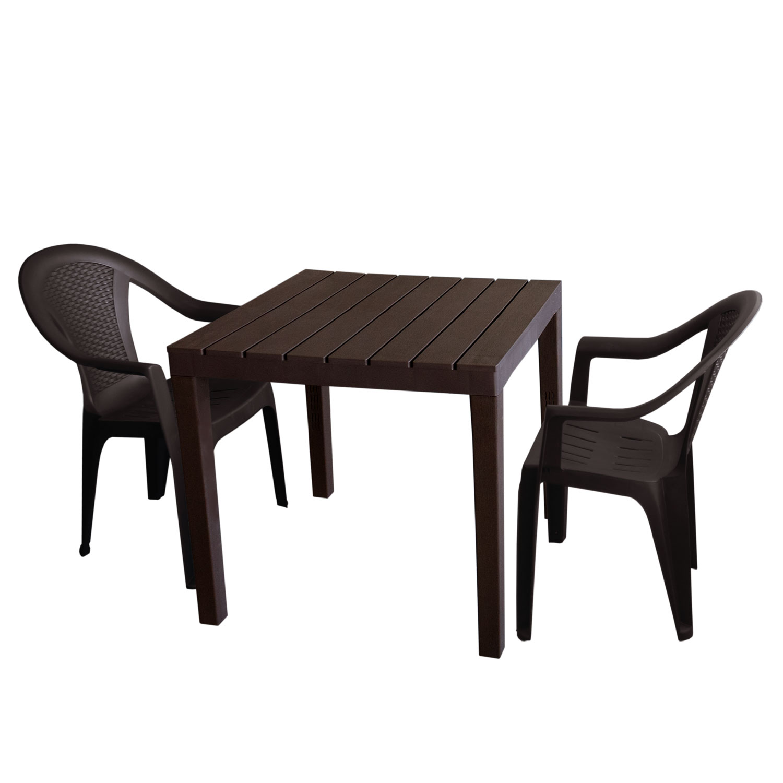 Beste Von Gartenbank Kunststoff Holzoptik Design