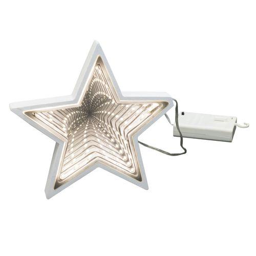 LED Lichtdeko Weihnachtsstern 3D-Effekt - 26 LED H16cm – Bild 4