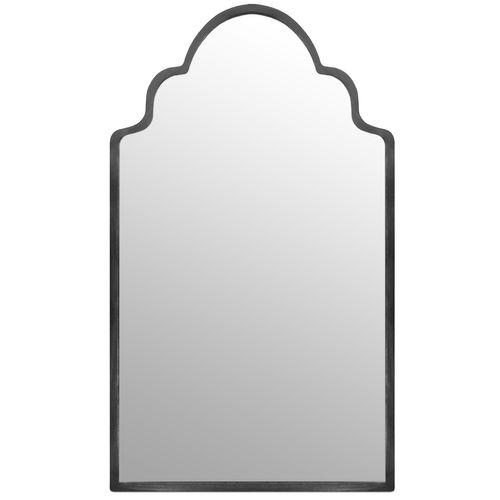 Wandspiegel 60x34cm - Grau – Bild 1