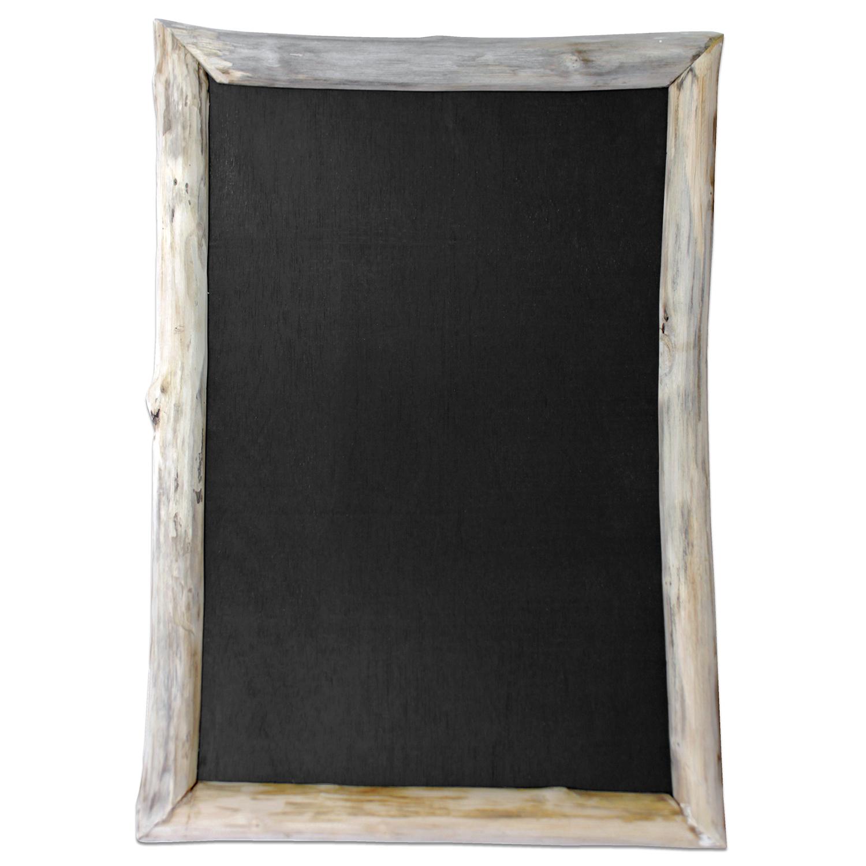 Wandtafel mit holzrahmen 70x50x4cm natur wohnen dekoration for Wohnen dekoration