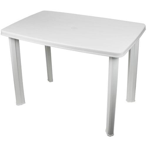 Gartentisch Faretto 101x68cm Kunststoff - Weiß