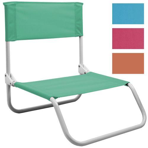 Strandstuhl klappbar in 4 Farben – Bild 1