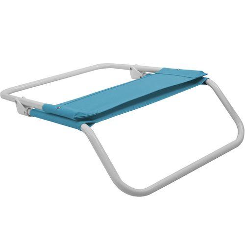2Stk Strandstuhl klappbar in Blau – Bild 2