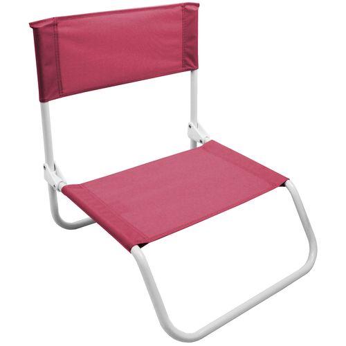 2Stk Strandstuhl klappbar in Pink – Bild 4