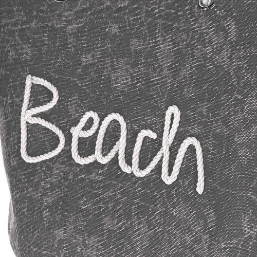 "Strandtasche ""Beach"" 58x38x38 Schiffstau-Optik – Bild 3"