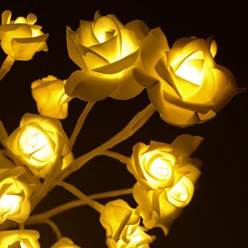 Beleuchteter Rosenbaum 96 LED / H100cm (B-Ware) – Bild 7