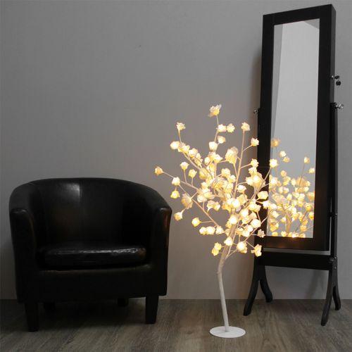 Beleuchteter Rosenbaum 96 LED / H100cm (B-Ware) – Bild 3